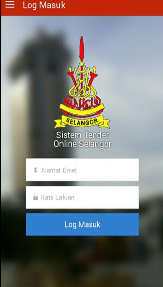 tender online selangor